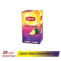 Lipton Nane Limon (Yeni) 2 gr 20 'li Bardak Poşet Çay