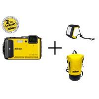 Nikon Aw130 (Yellow) Diving Kit Dijital Fotoğraf Makinesi