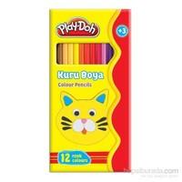 Play-Doh 12 Renk Kuru Boya / Tam Boy
