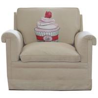 Gibi Design Çilekli Cupcake Yastık