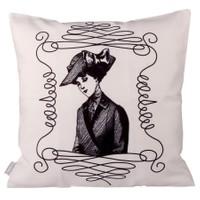 Cushion Design White Lady