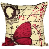 Cushion Design Provence Butterfly