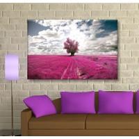 Arse Lavanta Dekoratif Kanvas Tablo 50x70 cm