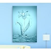 Bonaviya Sudan Çiçek Kanvas Tablo 50x70 cm