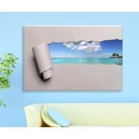 Bonaviya Gizli Manzara Kanvas Tablo 50x70 cm