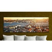 Bonaviya İstanbul XXL Boy Kanvas Tablo 120x40 cm