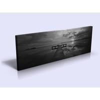 Bonaviya İskele XXL Boy Kanvas Tablo 120x40 cm