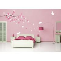 Besta Çiçekli Ağaç Duvar Sticker