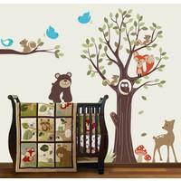 Besta Sevimli Hayvanlar Duvar Sticker