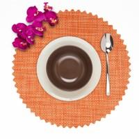 Dinner Design Yuvarlak Carrot Amerikan Servisi 40 cm