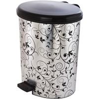 Modelsa Metalize Pedallı Çöp Kovası 10lt