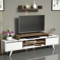 Hepsiburada Home Melis Tv Ünitesi Ceviz/Beyaz