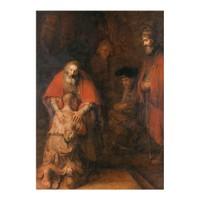 ARTİKEL Rembrandt Harmenszoon Van Rijn - The Return of the Prodigal Son 50x70 cm KS-1263