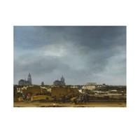 ARTİKEL Egbert van der Poel - A View of Delft after the Explosion 50x70 cm KS-1448