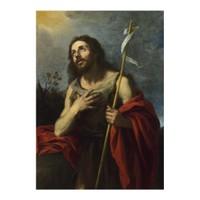 ARTİKEL Bartolomé Esteban Murillo - Saint John the Baptist in the Wilderness 50x70 cm KS-1417
