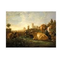 ARTİKEL Aelbert Cuyp - The Large Dort 50x70 cm KS-1329