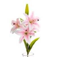 Yedifil Lilyum Pembe Yapay Çiçek
