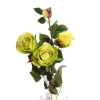 Yedifil Kuru Yaban Gülü Yeşil Yapay Çiçek