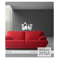ARTİKEL Cat In Love Ayna Sticker 24x18 cm DP-407