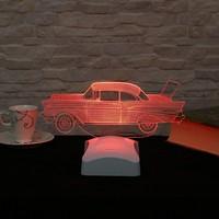 Dekorjinal 3 Boyutlu Klasik Araba Lamba V23D074