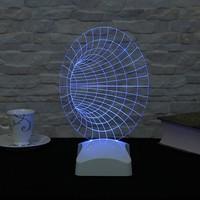 Dekorjinal 3 Boyutlu Geometrik Lamba V23D004