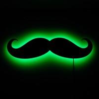 Dekorjinal Gölge Lamba Mustache Sembolü GLMB010