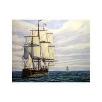 ARTİKEL Ship 2 Parça Kanvas Tablo 80x100 cm KS-330