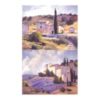 ARTİKEL Purple Life 2 Parça Kanvas Tablo 60x40 cm KS-588
