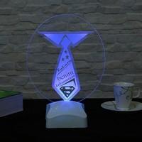 Dekorjinal Dekojinal Babalar Günü 3 Boyutlu Lamba BABA3D001