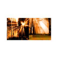 ARTİKEL Sun Reflection 2 Parça Kanvas Tablo 80x40 cm KS-455