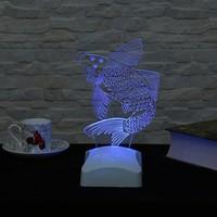 Dekorjinal 3 Boyutlu Balık Lamba V23D070