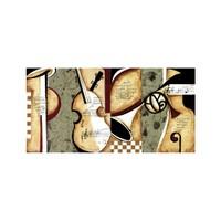 ARTİKEL Jazz 2 Parça Kanvas Tablo 80x40 cm KS-688