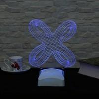 Dekorjinal 3 Boyutlu Modern Geometrik Lamba V23D007