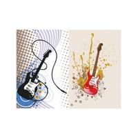 ARTİKEL Guitar 2 Parça Kanvas Tablo 80x100 cm KS-373
