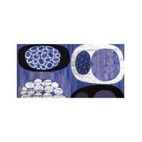 ARTİKEL Blue Shapes 2 Parça Kanvas Tablo 80x40 cm KS-809