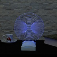Dekorjinal 3 Boyutlu Küre perspektif Lamba V23D017