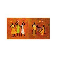 ARTİKEL Ujjaijini Balachandra 2 Parça Kanvas Tablo 80x40 cm KS-800