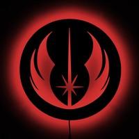 Dekorjinal Gölge Lamba Jedi Sembolü GLMB019