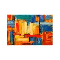 ARTİKEL Romantic Lines 2 Parça Kanvas Tablo 60x40 cm KS-895