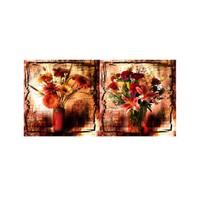 ARTİKEL Bundle 2 Parça Kanvas Tablo 80x40 cm KS-377