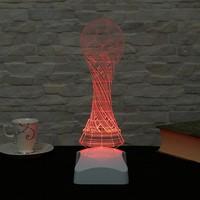 Dekorjinal 3 Boyutlu Dünya kupası Lamba V23D177