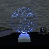 Dekorjinal 3 Boyutlu Kişiye Özel Lamba OZEL3D010