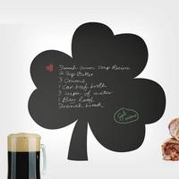 Dekorjinal Yonca Yaprağı Yazılabilir Yaz Sil Sticker YS29