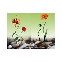 ARTİKEL Shapes 2 Parça Kanvas Tablo 80x100 cm KS-407