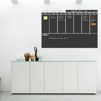 Dekorjinal Aylık Program Yazılabilir Yaz Sil Sticker YS15