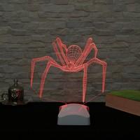 Dekorjinal 3 Boyutlu Örümcek Lamba V23D065
