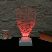 Dekorjinal 3 Boyutlu Joker Lamba V23D039