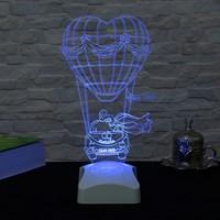 Dekorjinal 3 Boyutlu Kişiye Özel Lamba OZEL3D002