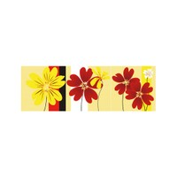 ARTİKEL Hot Colors 3 Parça Kanvas Tablo 40X120 Cm KS-749