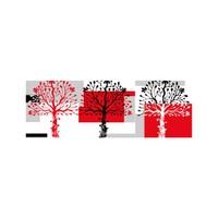 ARTİKEL Fireflies 3 Parça Kanvas Tablo 40X120 Cm KS-648